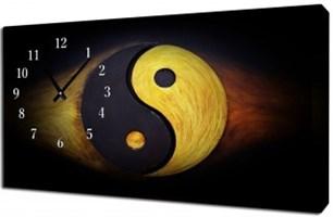 Часы на холсте (40*76)