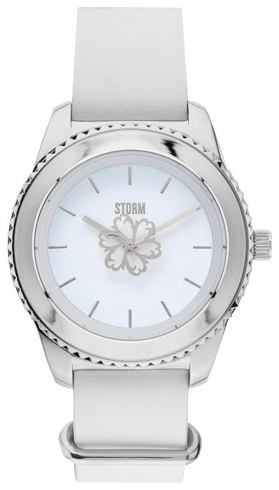 Storm LEORA LEATHER WHITE 47312/W