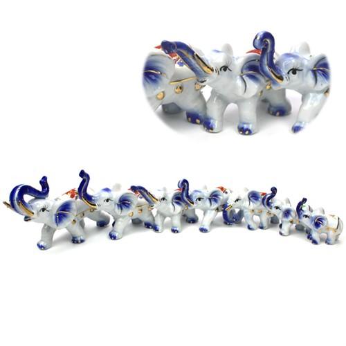 787329 Набор из семи слонов