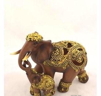 32241 Слон со слоненком