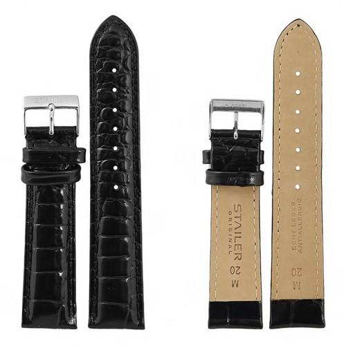 """рем. """"Stailer"""" №1031- 20 мм, черный"""