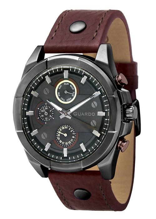 Guardo GR 10281-9 черный, коричневый ремень