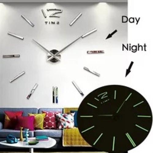 Часы 3D бескаркасные A 001 LU