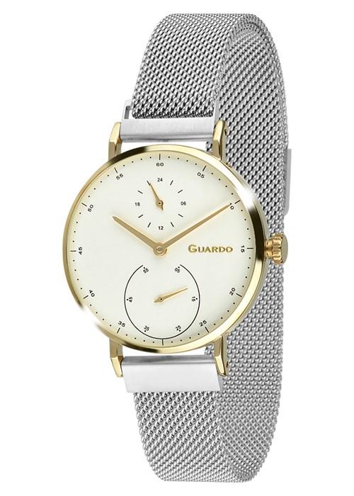 Guardo 12660-2 зол/бел, хром браслет