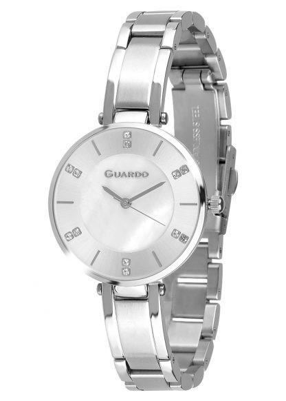 Guardo 12664-1 хр/бел, хром браслет