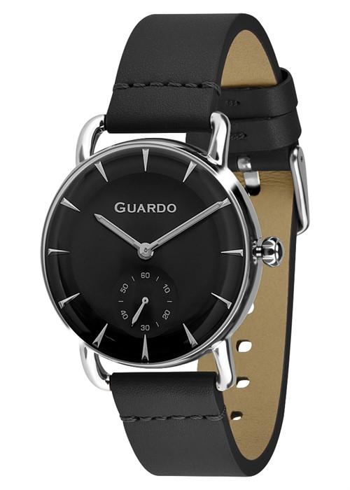 Guardo 01403-1 хр/черн, черн. ремень