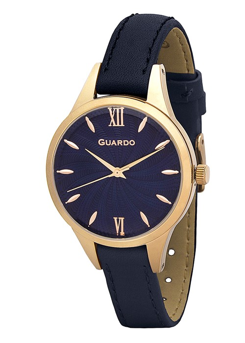 Guardo 01099-4 зол/син, синий ремень