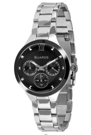 Guardo 12244-1 хр/черн, хром браслет