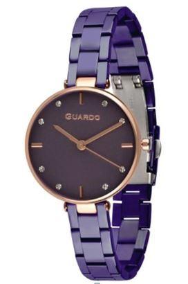 Guardo 12506-7 зол/фиол, фиол. браслет