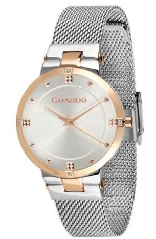 Guardo 01055-5 зол/бел, хром браслет