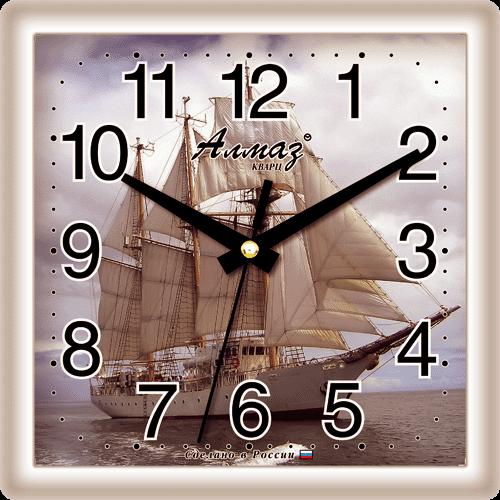 """Часы настенные """"Алмаз"""" мини 477"""