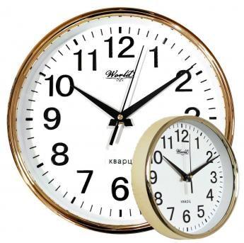Часы настенные World 35035 Gold