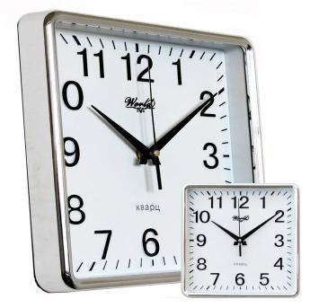 Часы настенные World 35034 Silver