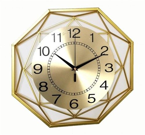 Часы настенные World 2023-50 gold