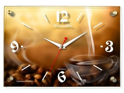 Камелия 1519 кофе, стекло - фото 4643