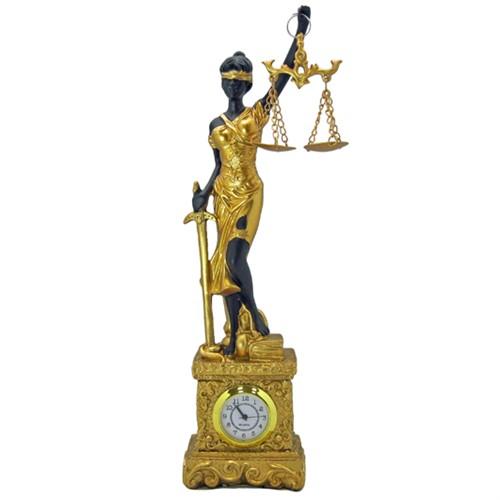 """16770 Композиция с часами """"Правосудие"""""""