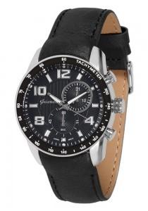 Guardo 9750-1 хром/черн, черный ремень - фото 8338