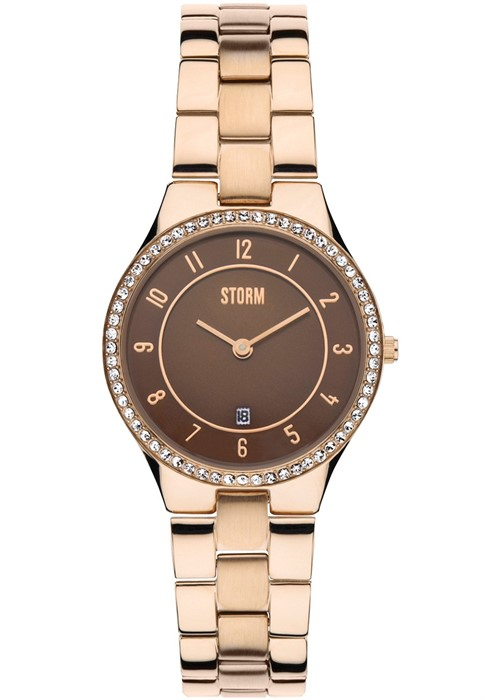 Storm SLIM X CRYSTAL ROSE GOLD 47189/RG