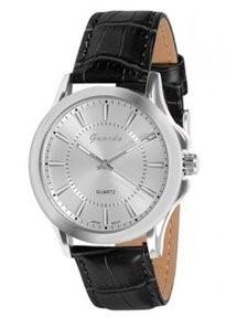 Guardo 8005-2 хром/серый, черный ремень