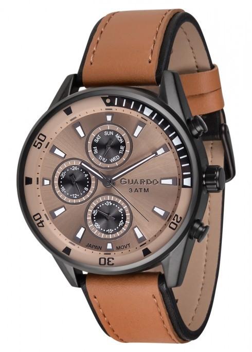Guardo GR 17116-3 черн/кор, коричневый ремень