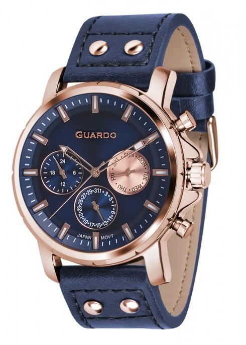 Guardo GR 11214-5 зол/син, синий ремень