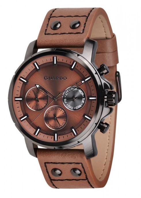 Guardo GR 11214-4 черн/кор, коричневый ремень