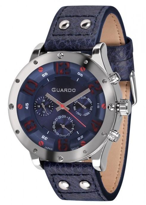 Guardo GR 10630-1 хр/син синий ремень