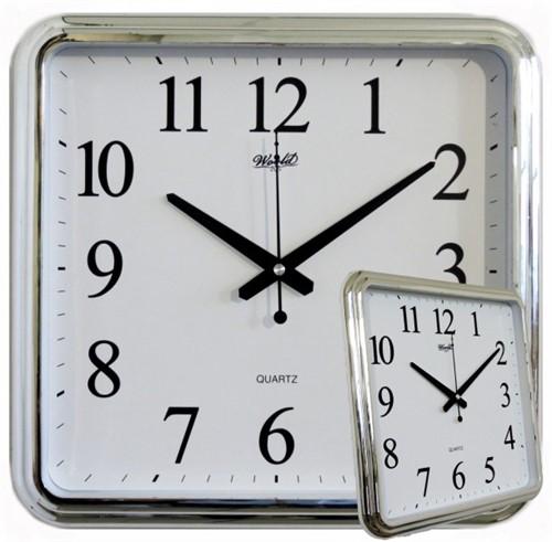 Часы настенные World 3095 Silver