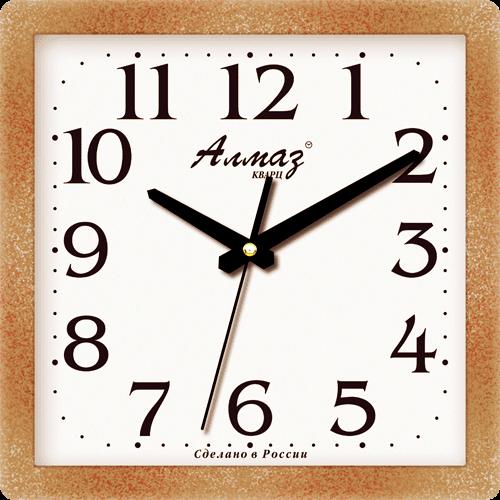 """Часы настенные """"Алмаз"""" мини 1457"""