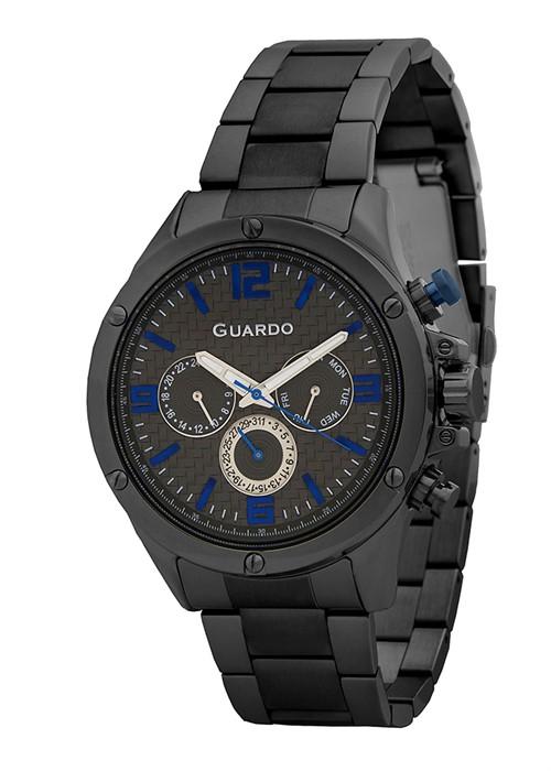 Guardo 11455-5 черный, чер. браслет