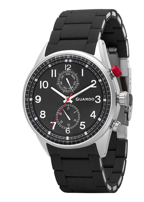Guardo 11269-1 черный, чер. браслет