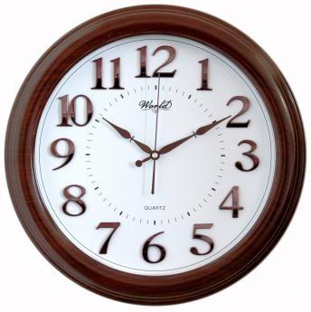 Часы настенные World 2040 BW