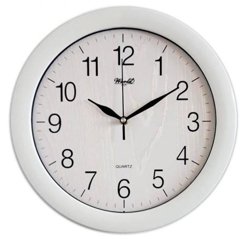 Часы настенные World 6118 white